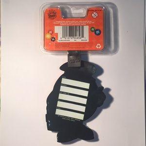 f27eba65bca2 M&M Jumbo Luggage Tag Travel ID NWT